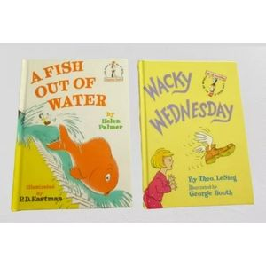 A Fish Out of Water Wacky Wednesday Book Lot